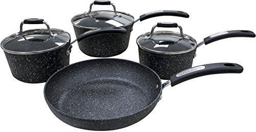 Scoville Neverstick 4 Piece Frying Pan Amp Saucepan Set