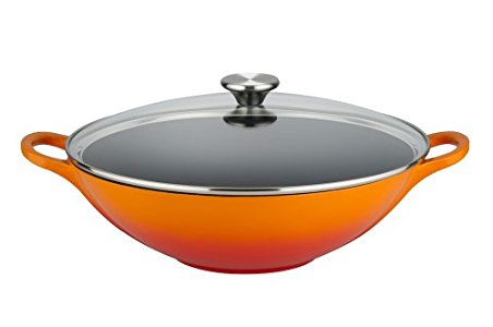 Le Creuset Cast Iron Wok A Great Piece Of Very Expensive Kit