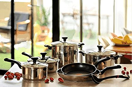 Tefal Comfort Max Stainless Steel Cookware Set Never Have